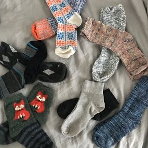 Accessories - 11 pairs of socks
